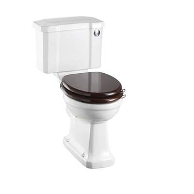 Burlington Regal Close Coupled Pan with Slimline Push Button Cistern