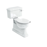 Burlington S-Trap Close Coupled WC With Slimline Lever Cistern