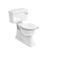 Burlington S-Trap Close Coupled WC with Lever Cistern