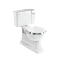 Burlington S-Trap Close Coupled WC with Slimline Push Button Cistern