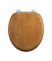 Burlington Oak Wooden Soft Close Seat