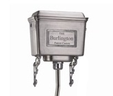 Burlington Polished Aluminium High Level Cistern