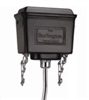 Burlington Black Aluminium High Level Cistern