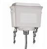 Burlington White Aluminium High Level Cistern