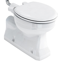 Burlington Concealed Bottom Outlet Low Level Pan