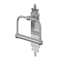 Burlington Chrome Spire WC Toilet Roll Holder