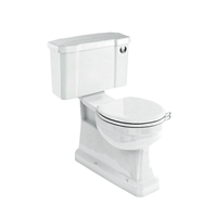 Burlington S-Trap Close Coupled WC with Push Button Cistern