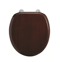 Burlington Mahogany Wooden Soft Close Seat