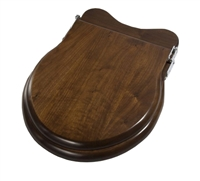 Traditional Wooden Round Toilet Seat