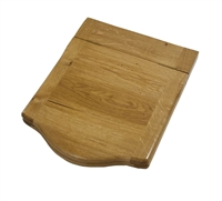 Traditional Wooden Medium Throne Toilet Seat