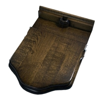 Traditional Wooden Cambridge Throne Toilet Seat