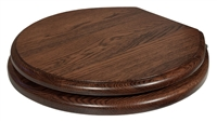 Traditional Wooden Baldwin Toilet Seat