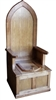 TRTC Wooden Throne Toilet