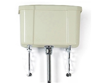 TRTC High Level Traditional Cream/vory Cistern