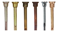 High Level Flush Pipe Various Finishes