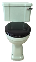 TRTC Art Deco Green Close Coupled Toilet
