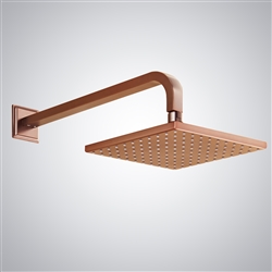 Rose Gold Square Rain Shower Head