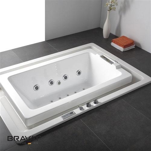 Bravat Infinity Water Flow Bathtub