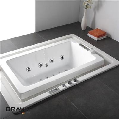 Bravat Infinity Water Flow Bathtub