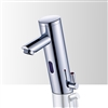Temperature Control Solid Brass Automatic Commercial touchless sensor faucet