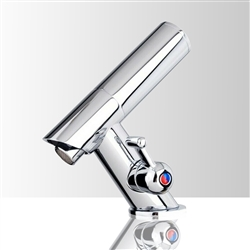 Automatic Commercial Electronic Sensor Faucet mixer All-in-One Parts comes with Ceramic Cartridge and Built-in check valve