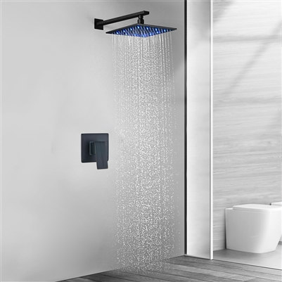 Rivera Oil Rubbed Bronze LED Shower Set