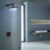 Rivera Light Oil Rubbed Bronze LED Shower Set