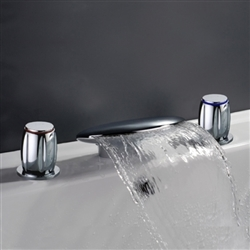 Chrome European Bath Faucet