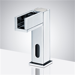 Fontana Contemporary Commercial Automatic Waterfall Sensor Faucet