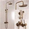 Vintage Antique Bathroom Shower Set - Rainfall Shower Head