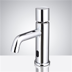 Brass Chrome Commercial Automatic Motion Sensor Faucet