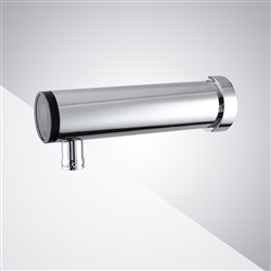 Wall Mount Single Hole Hands Free Commercial Automatic Touchless Sensor Faucet