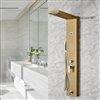 Limar Gold Polish Shower Panel