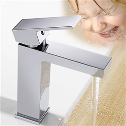 Lima Art Square Copper sink Faucet