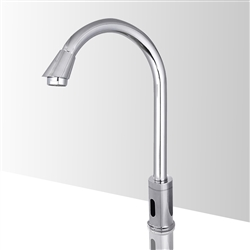 Hospital Style Adjustable Commercial Automatic Touchless Sensor Faucet