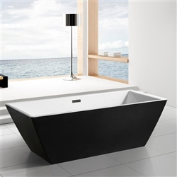 "Sedona Freestanding 71"" Square Bathroom Tub"
