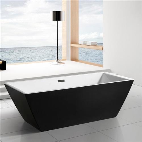 Sedona Freestanding 71 Square Bathroom Tub