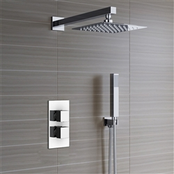 Reno Thermostatic Shower Set Ultra Thin Head