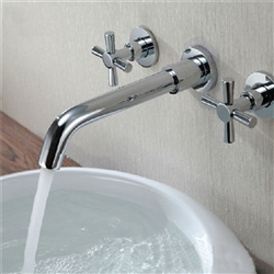 Wall Mount Faucet 3 Piece Set