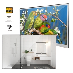 "Sénart 22"" Magic Mirror Waterproof Android 7.1 Wall Mounted Smart LED TV"