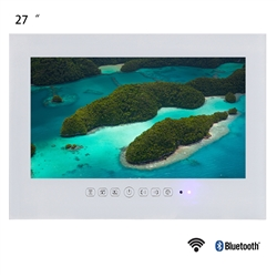 "Lyon 27"" 1080P Full HD WIFI Android Internet Waterproof TV (White)"