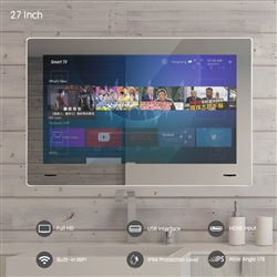 "Deauville 27"" 1080P Android WIFI Bathroom Internet LED TV"
