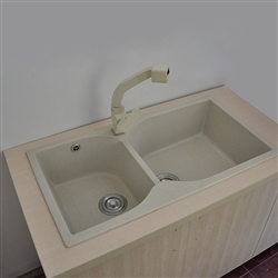 Le Havre White Durable Undermount Kitchen Sink