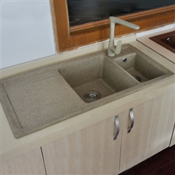 Cholet Durable Stone Undermount Kitchen Sink