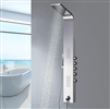 Le Havre Shower Panel #304 Stainless Steel Wall Mount Multi-Function Tower Massage Systerm With Body Jets Tub Spout Rainfall Waterfall Showerhead