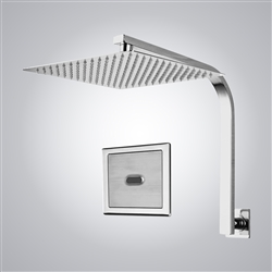 BathSelect Chrome Sensor Controlled Automatic Shower Head