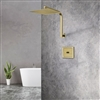 Brushed Gold Sensor Controlled Automatic Shower Head