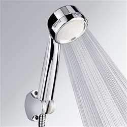 Electroplating Handheld ABS Shower Head Bath Shower Showerhead Double-sided