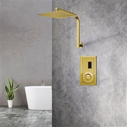 Gold Sensor Controlled Automatic Shower Set