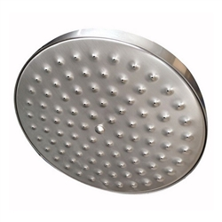 Ceiling Mounted Round Single Head Brushed Nickel Rainfall Bathroom Shower Head